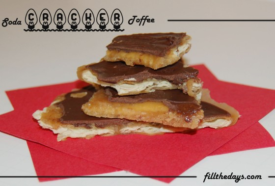 soda cracker toffee 1
